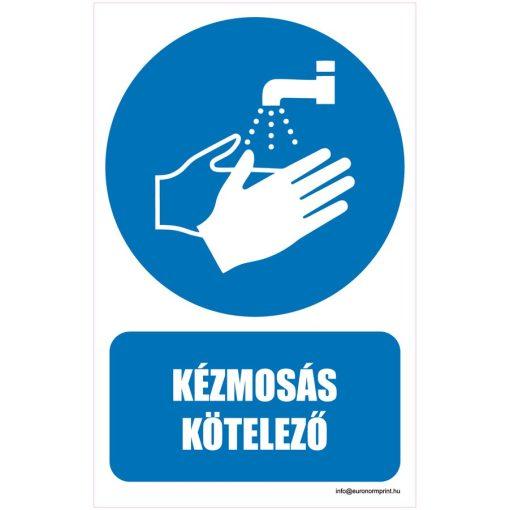 Kézmosás kötelező