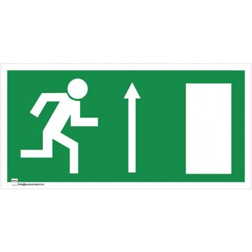 Menekülési út fölfelé, ajtó jobbra