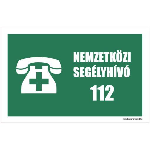 Nemzetközi segélyhívó 112