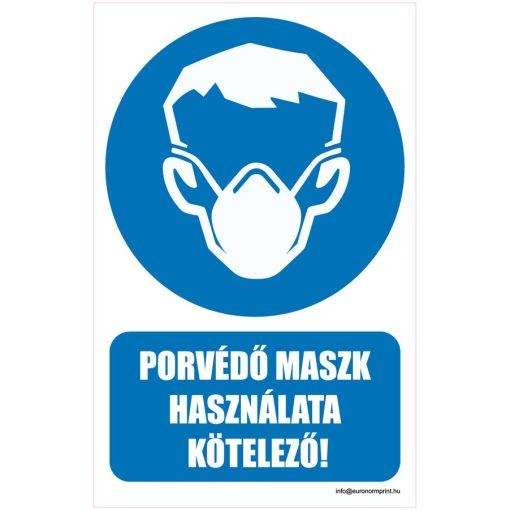 Porvédő maszk használata kötelező