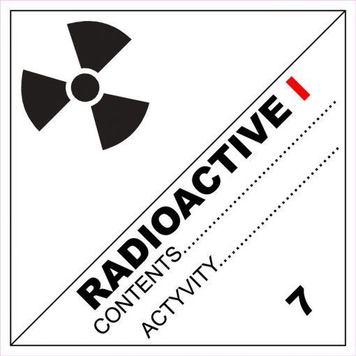 Radioaktív anyag I