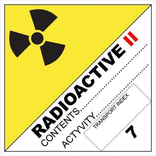 Radioaktív anyag II