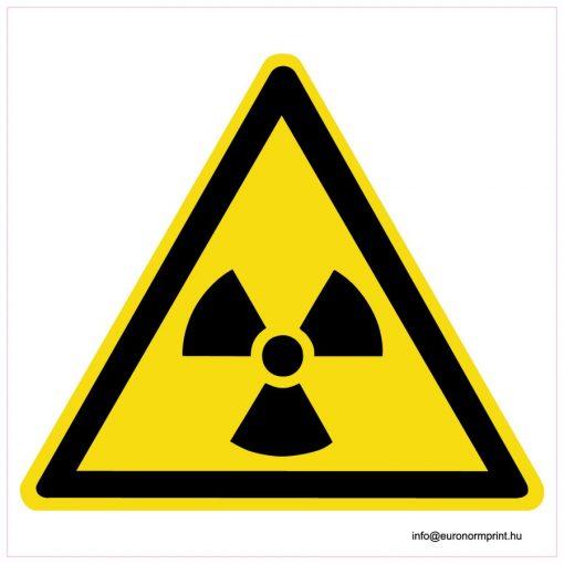 Radioaktív anyag jel