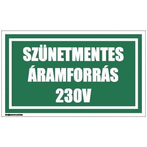 Szünetmentes áramforrás 230 V