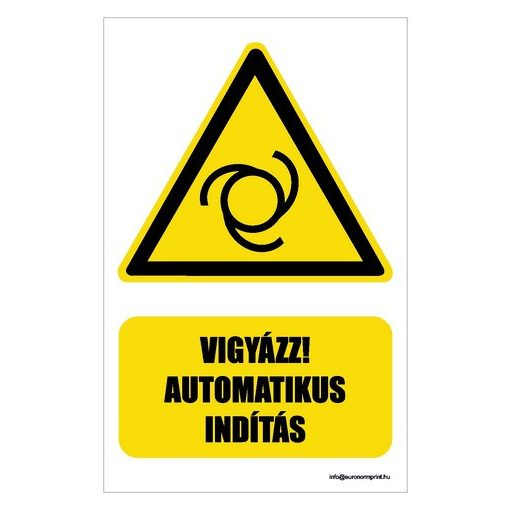 Vigyázz! Automatikus indítás