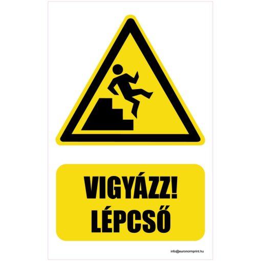Vigyázz! Lépcső