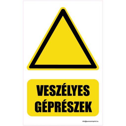Vigyázz! Veszélyes géprészek