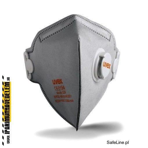 Uvex Silv-Air Classic FFP2 aktívszenes szelepes félálarc