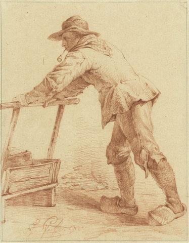 Sabotban dolgozó férfi